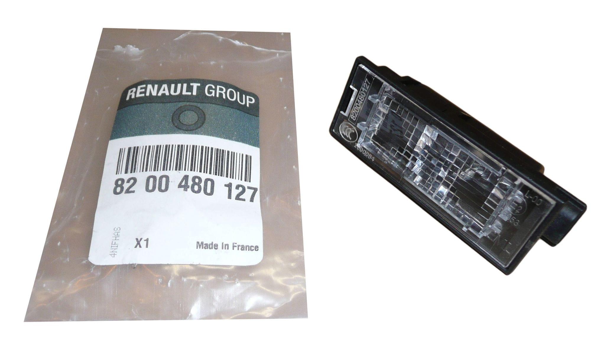 Lampka Oświetlenia Tablicy Rejestracyjnej Renault Laguna Iii Clio Iii 8200480127 Oryginał