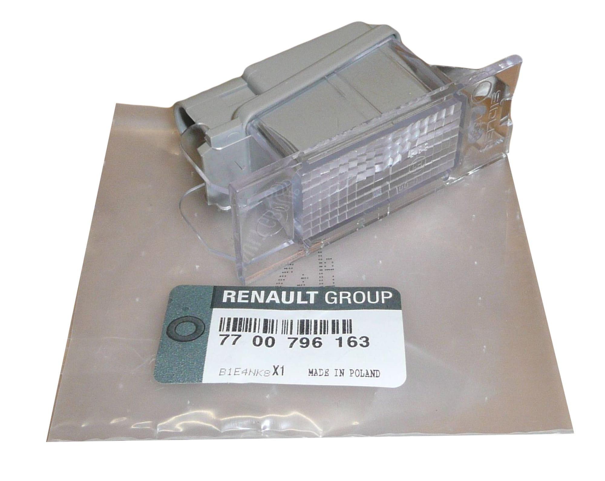 Lampka Oświetlenia Tablicy Rejestracyjnej Renault Clio Iii Master Ii 7700796163 Oryginał