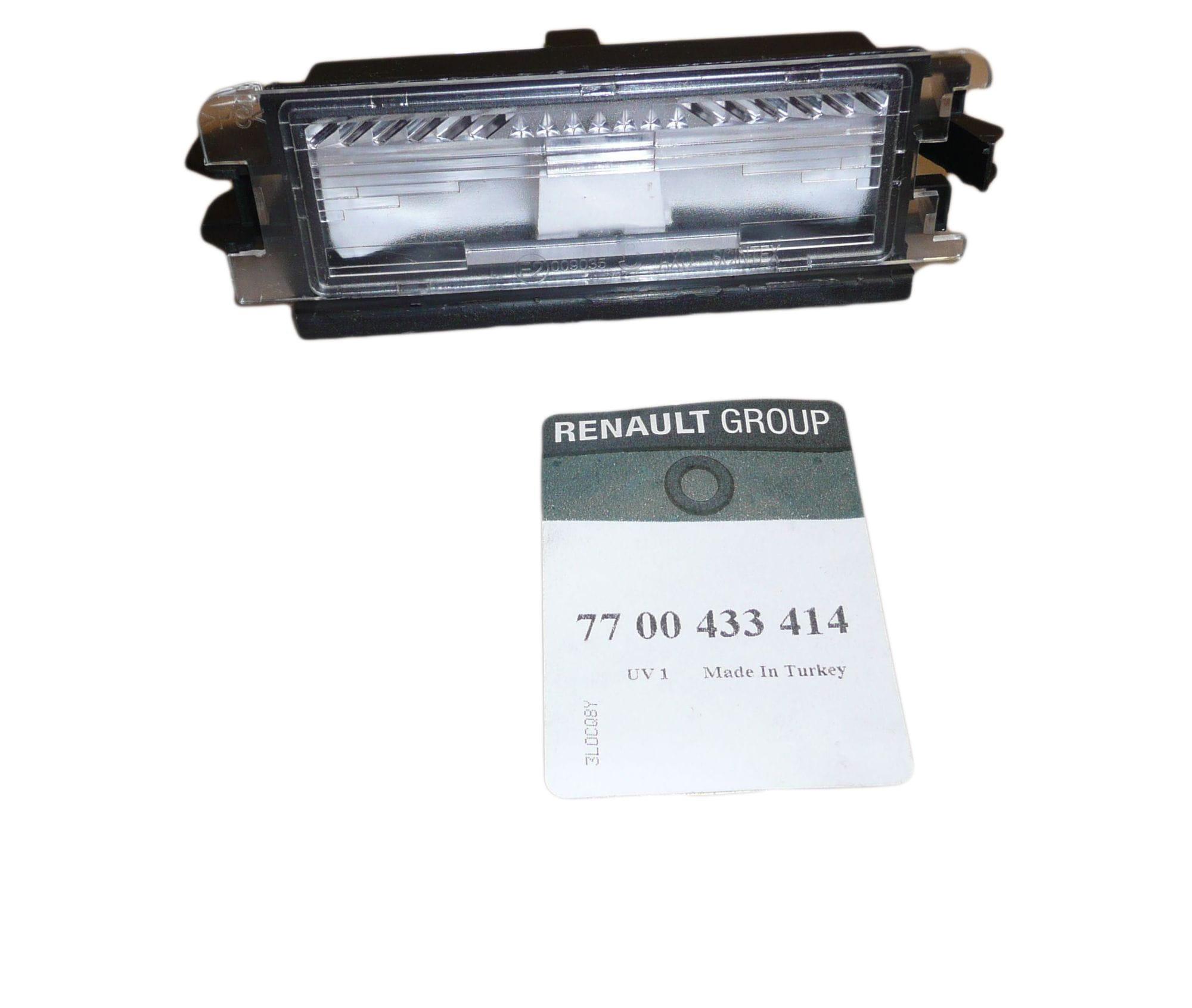 Lampka Tablicy Rejestracyjnej Renault Clio Ii Dacia Logan 7700433414 Oryginał